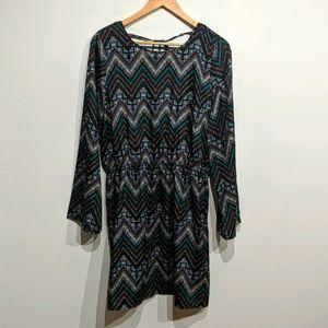 Ardene |Bell Sleeve Midi Dress